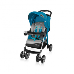 Wózek spacerowy Baby Design Walker Lite 05 Turkus