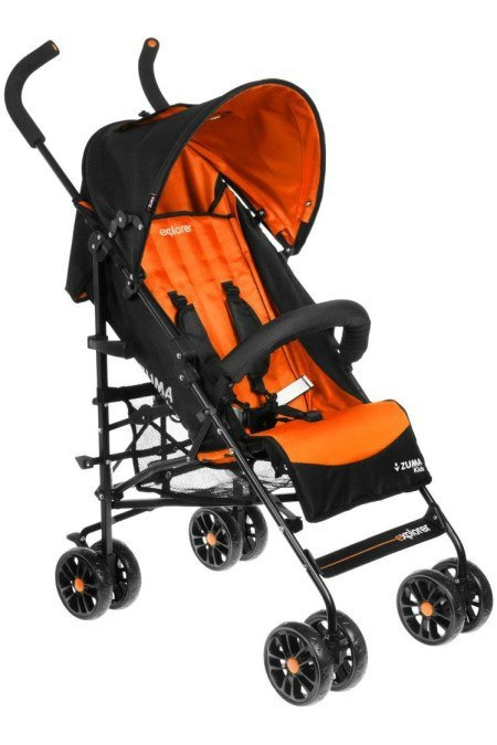 Wózek spacerowy Zuma Kids Explorer Orange